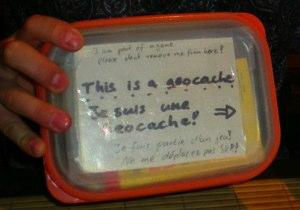 geocache1 20080915 225950 Le jeu web participatif dans le monde réel : Qu'est ce que le geocaching ?