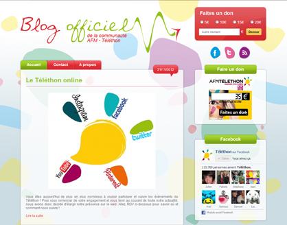 Blog du Téléthon