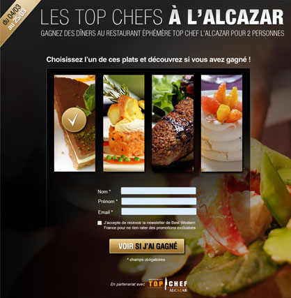 Concours Top Chef