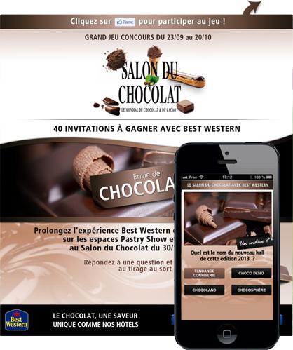 Jeu-concours<br/>Salon du Chocolat