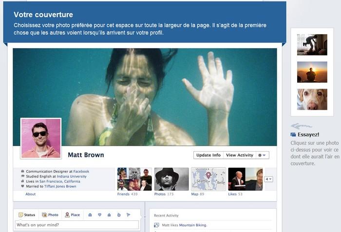 [Infographie] Evolution de Facebook: arrivée de la Timeline pour les Pages!