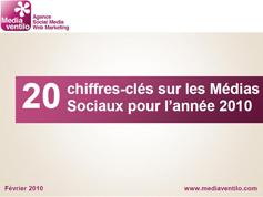 20 chiffres-clés Social Media pour 2010