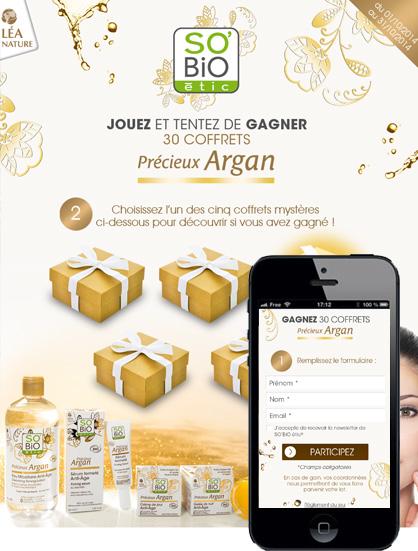 Concours Précieux Argan