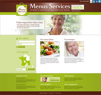 Site Les Menus Services